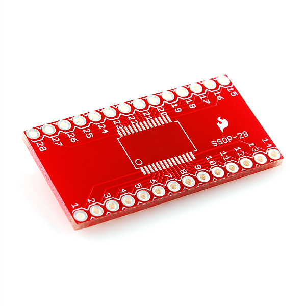 SSOP to DIP Adapter 28-Pin