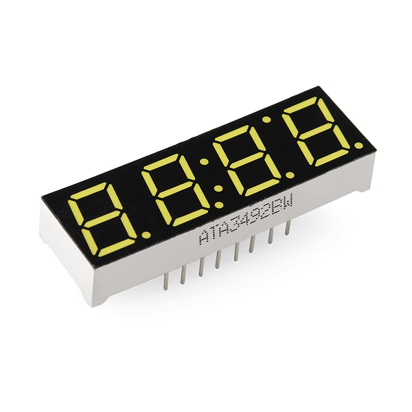 7-Segment Display - 4-Digit (White)