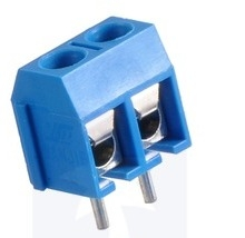 Screw Terminal Block, 5mmpitch, Side entry (4-Pack)