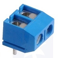Screw Terminal Block, 5mmpitch, Top entry (4-Pack)
